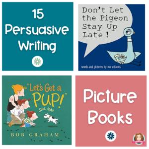 persuasive writing picture books
